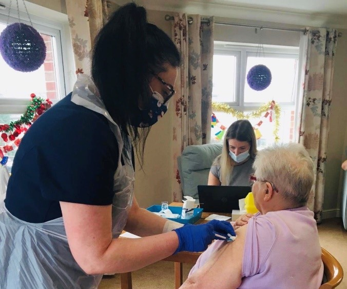First care home residents in Stockport vaccinated