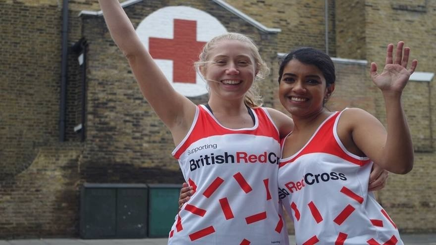 Run for the Red Cross!