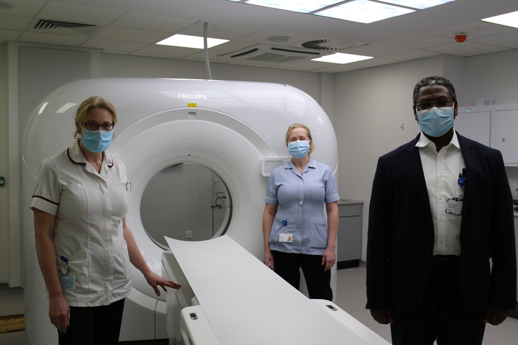New scanner boosts radiology at Stepping Hill
