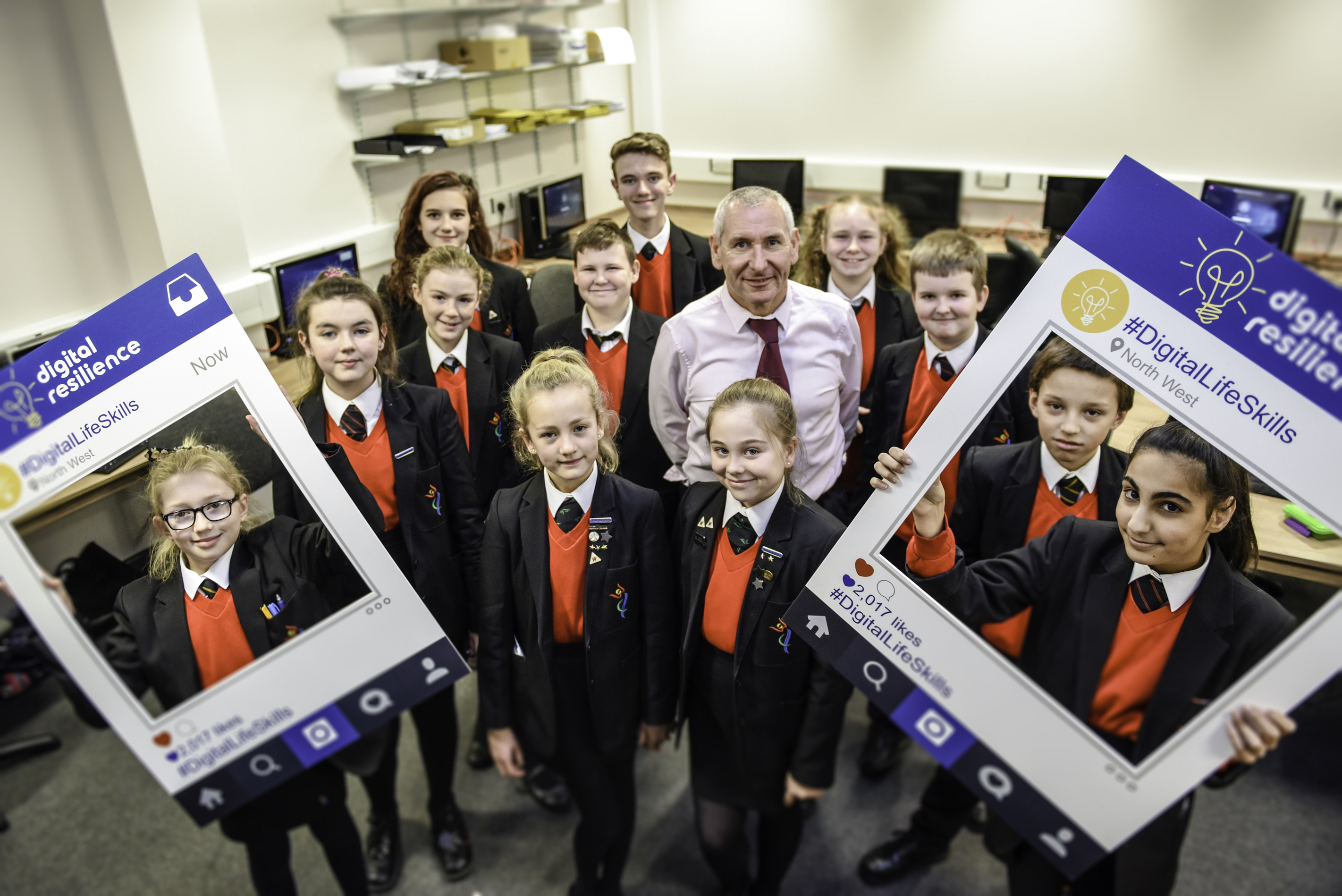 Stockport students are digitally savvy thanks to online life skills workshops