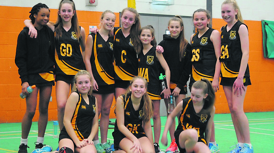Netball team wins National Cup Final