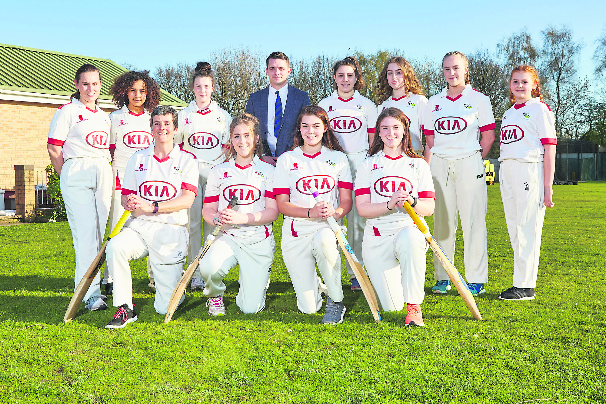Cricket team is bowled over by new sponsorship