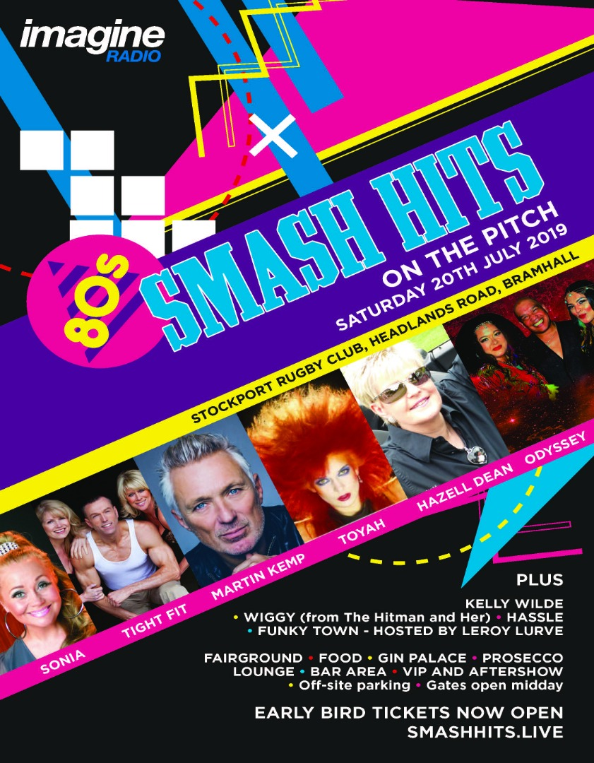 BRAMHALL TO HOST THE BIGGEST 80'S EVENT