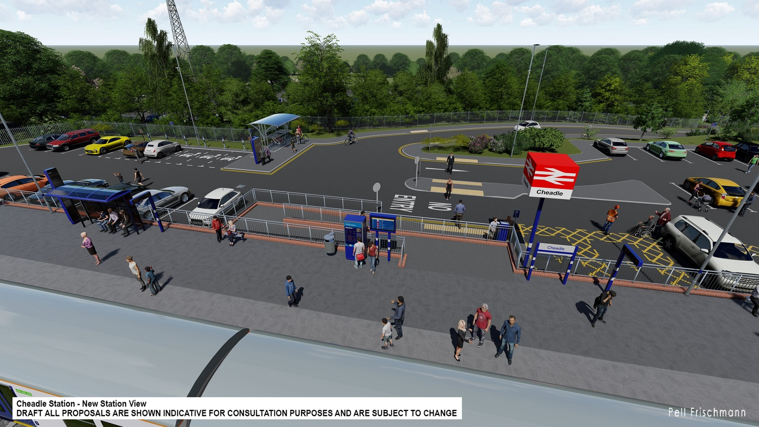 Residents asked to have their say on plans for new Railway Station