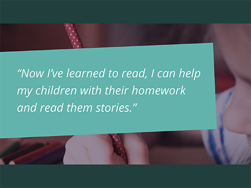 Would you like to help adults learn to read in Stockport?