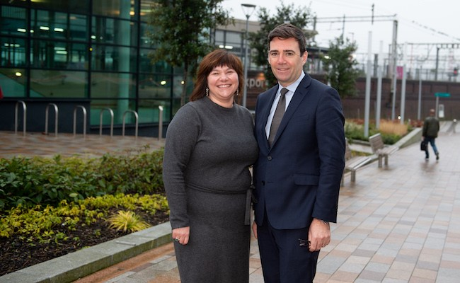 Greater Manchester's Mayor supports Stockport Covid-19 Business Recovery