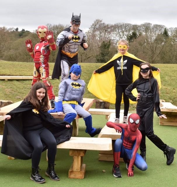 Celebrating the superheroes