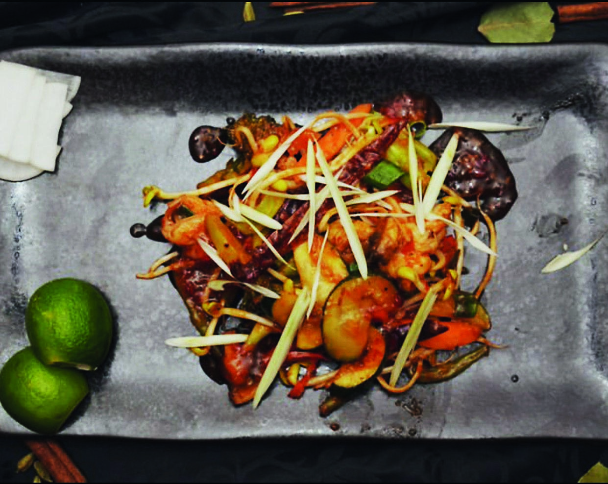 'In control' of the fabulous flavours of the East