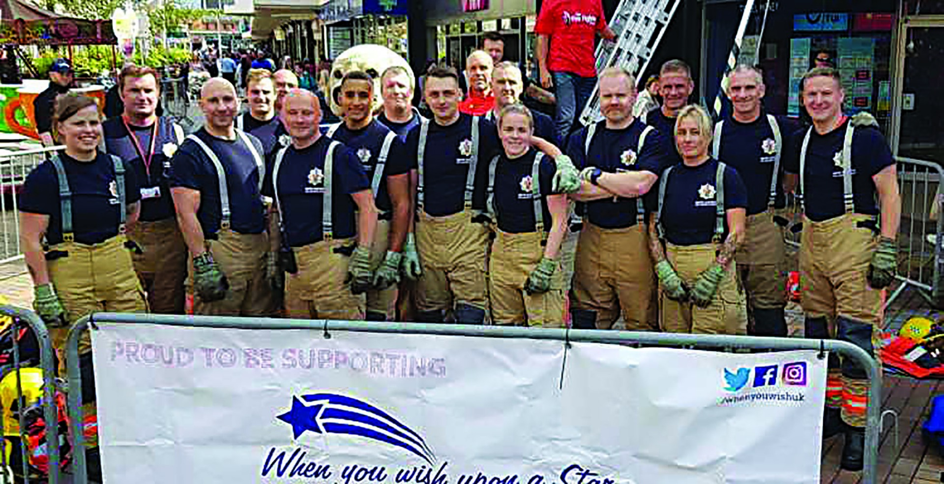 Firefighters tackle 'Everest' challenge