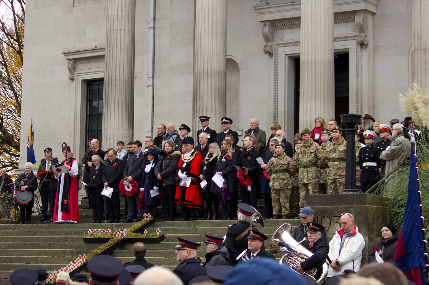 THOUSANDS STAND TOGETHER AS STOCKPORT REMEMBERS