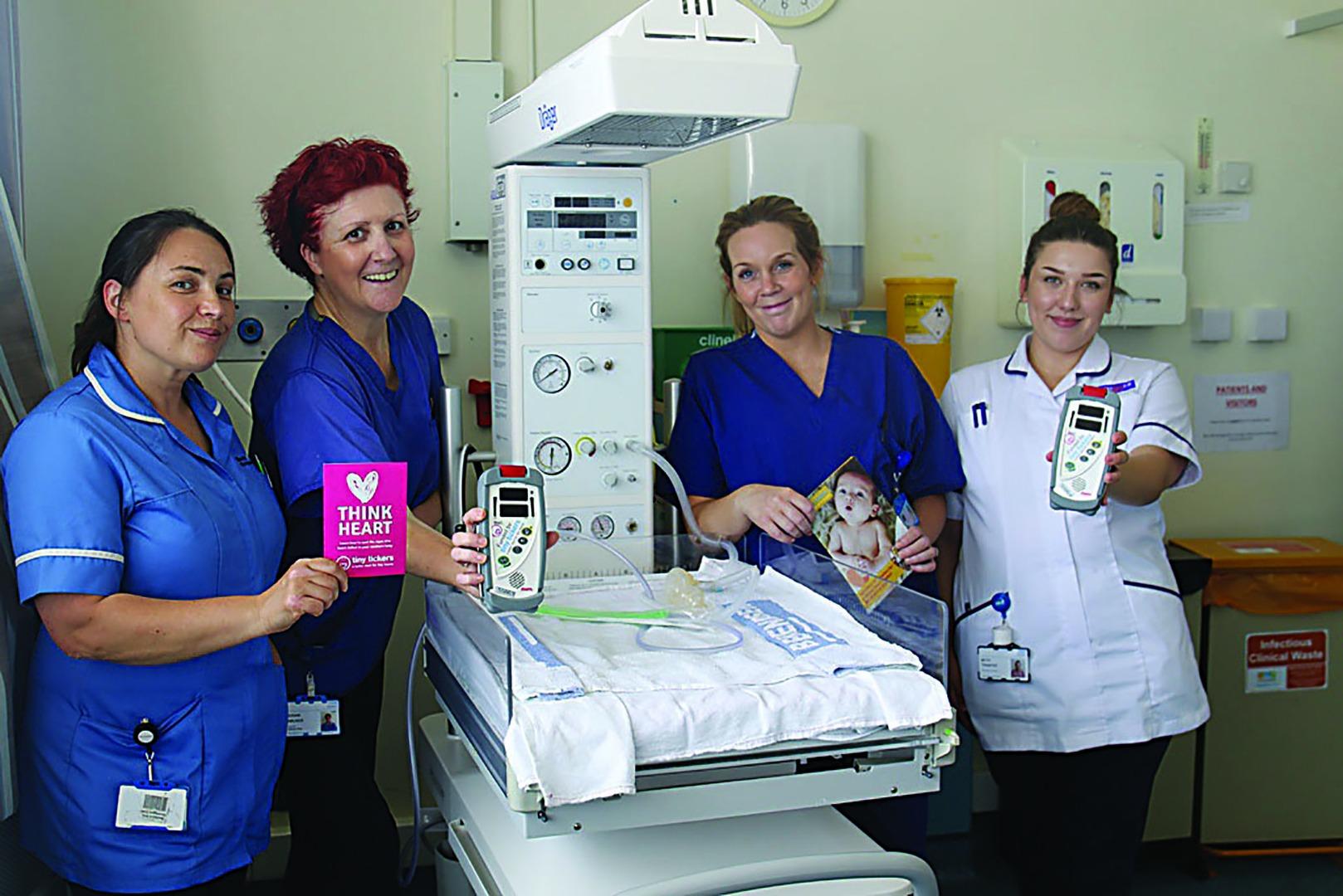 Heartfelt gift for maternity unit