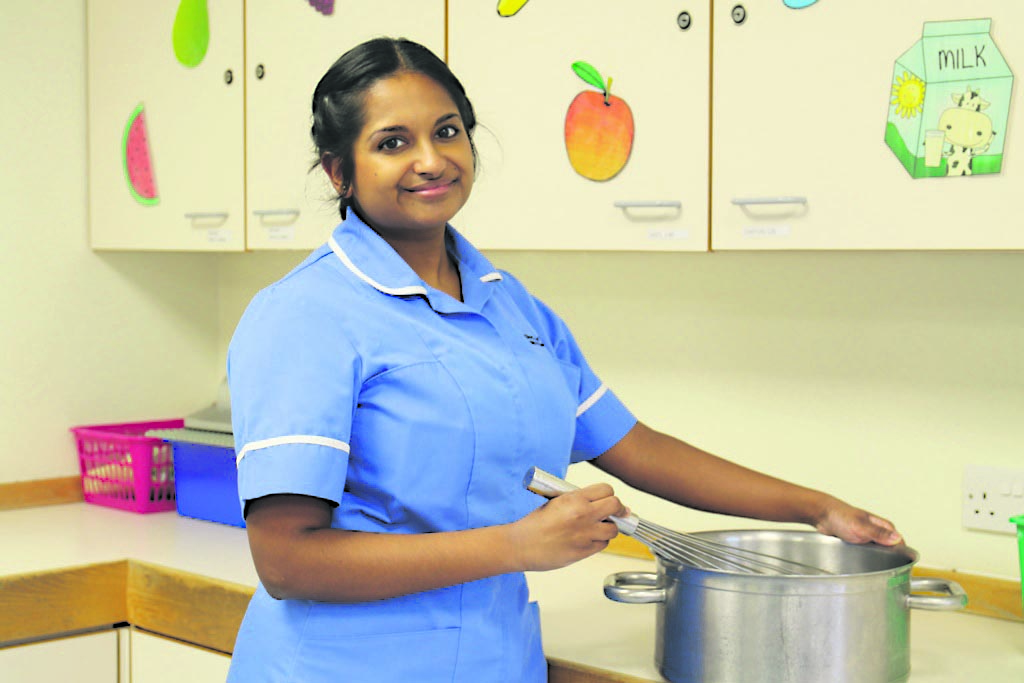 Panisha's recipe for success