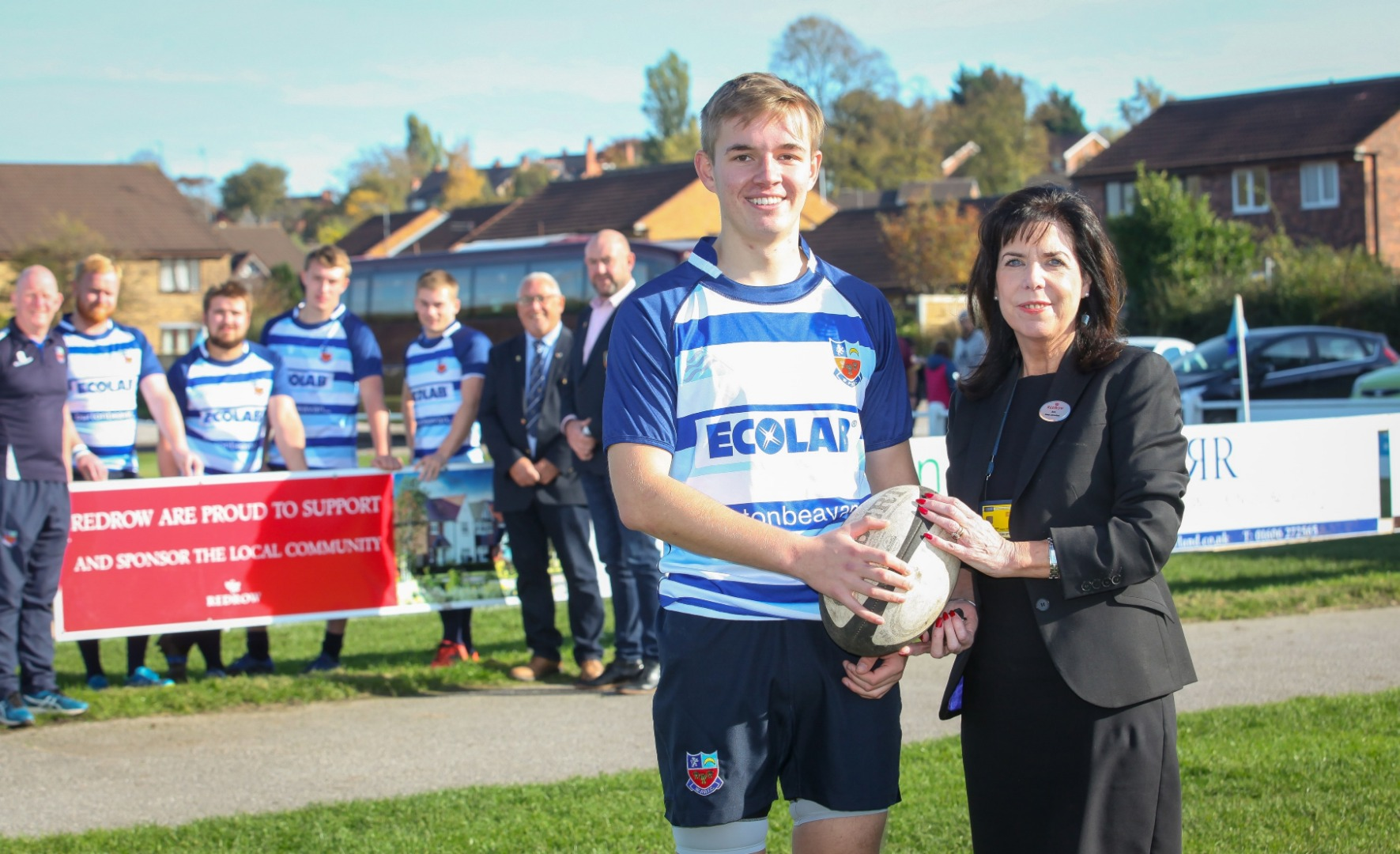 RUGBY CLUB TEAMS UP WITH REDROW TO TACKLE STORAGE SOLUTION