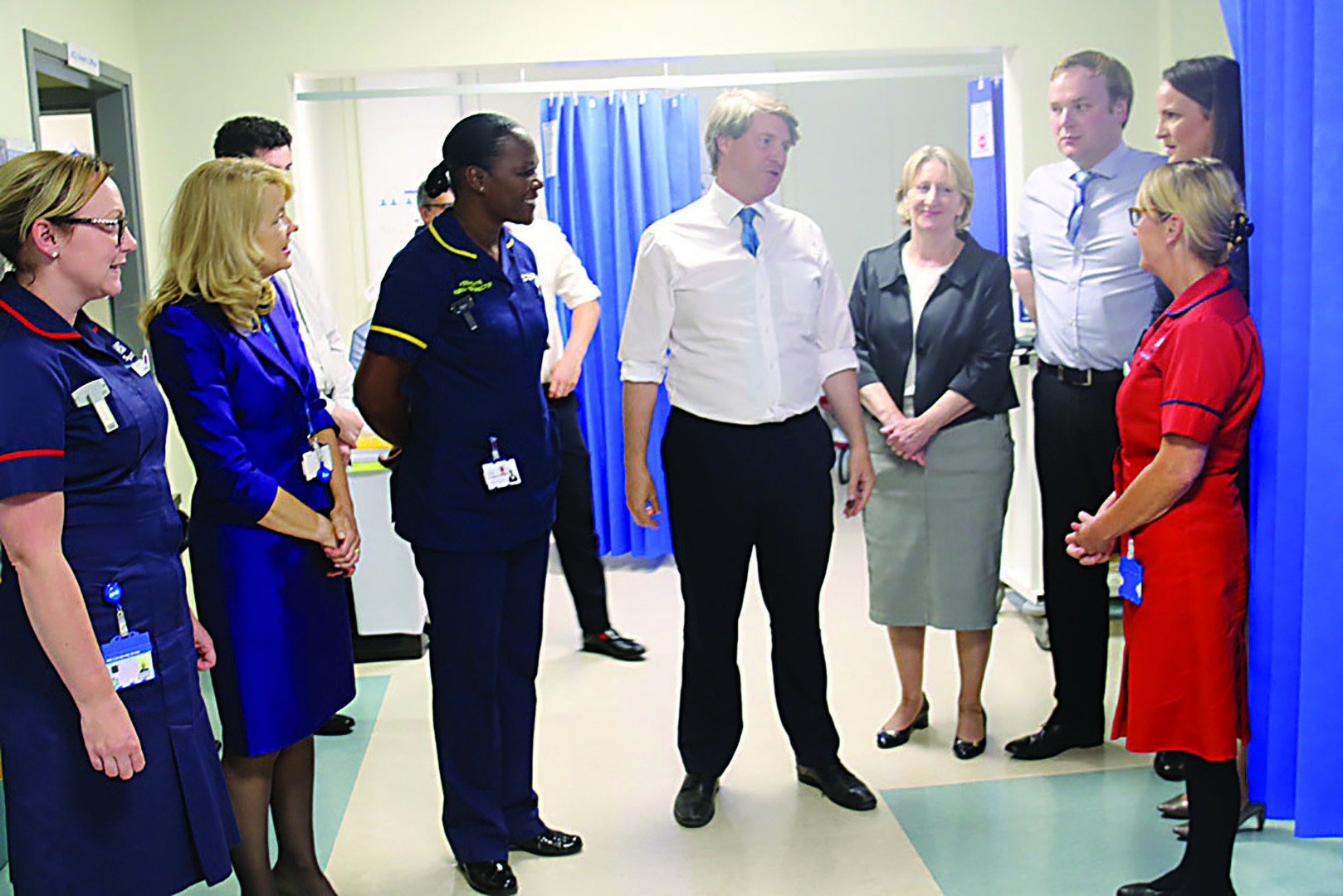 Health Minister visits Stepping Hill