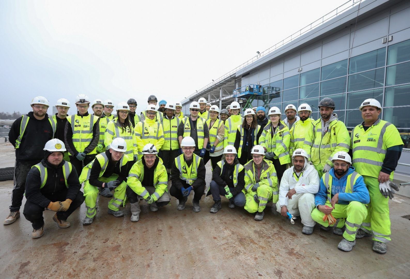 Airport transformation programme welcomes 100th apprentice