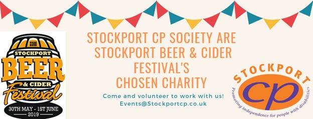 Stockport Beer & Cider Festival 2019 in support of Stockport CP Society