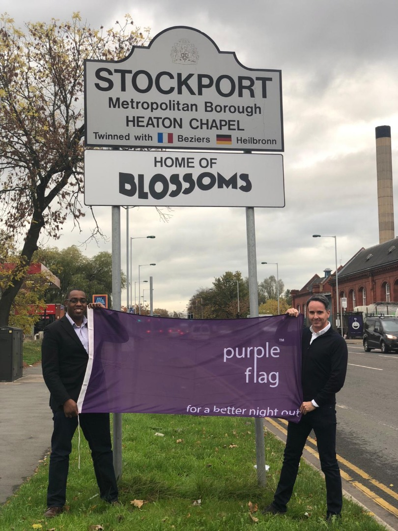 Sacha Lord praises Stockport for Purple Flag accreditation
