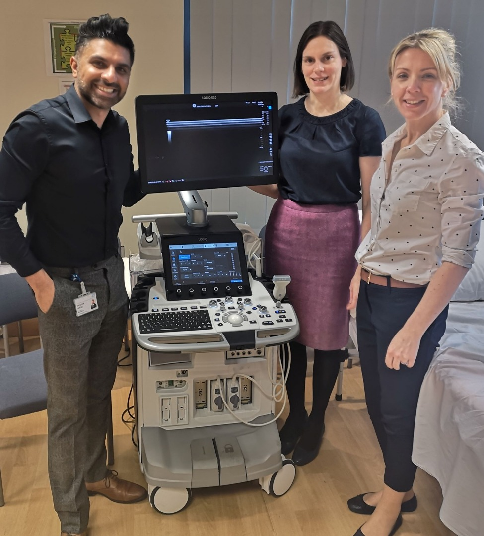 Stockport's new one stop shop arthritis ultrasound clinic
