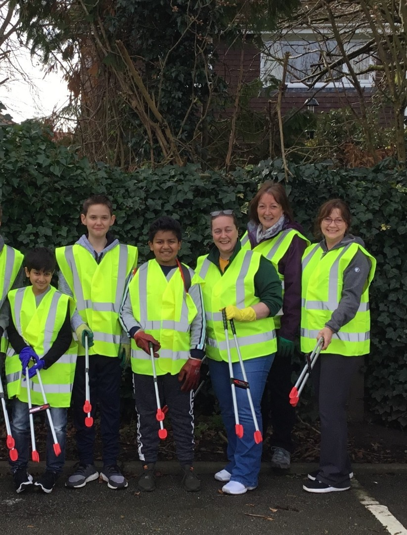 Stockport pupils pledge 3,000 hrs volunteering to mark anniversary