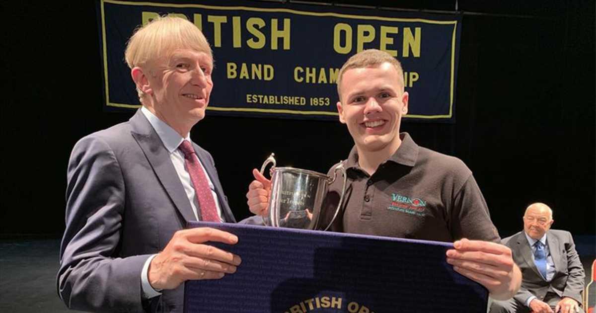 Poynton Brass Band Senior Cup Success