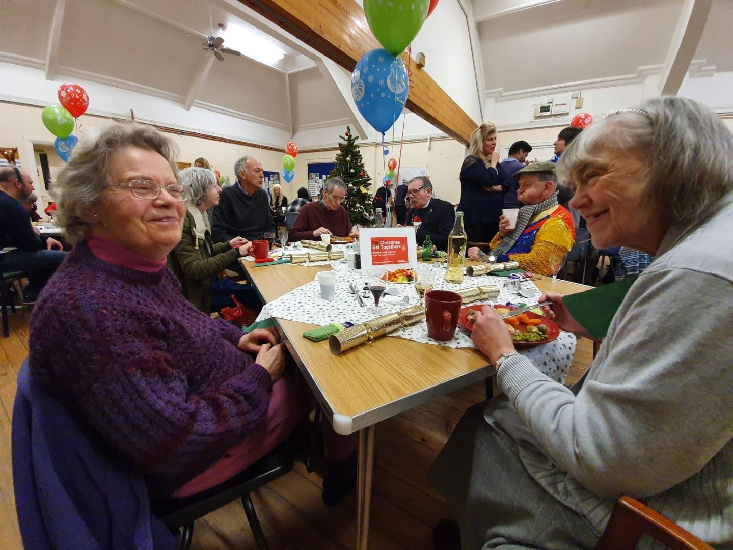 Festive lunch success for Stockport seniors